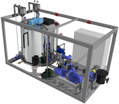 Установка для производства битумных эмульсий типа «EMOTE-4»